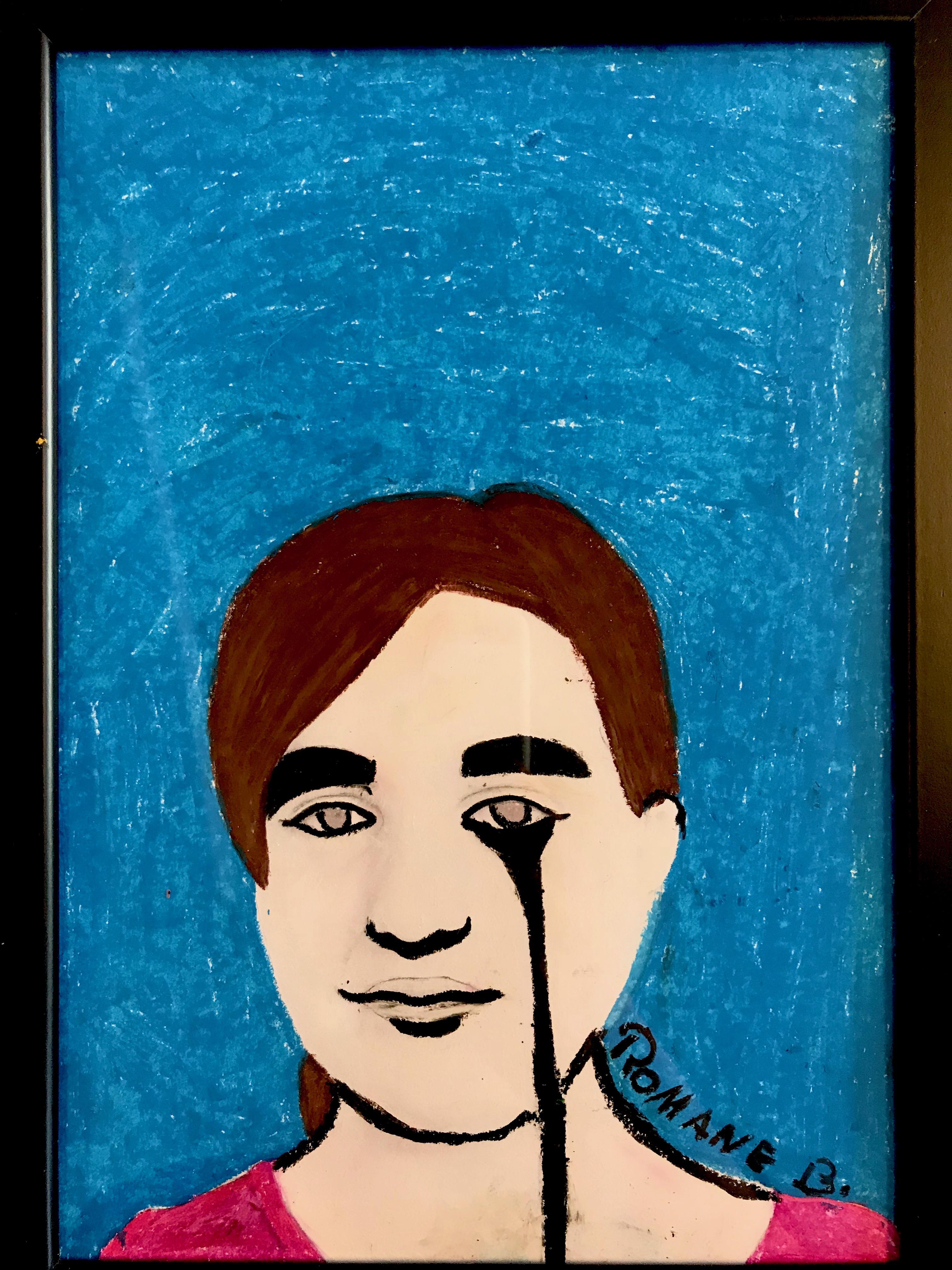 Autoportrait par Romane