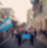 Representando a Argentina en #corfu2018.