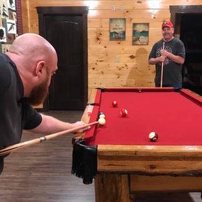 Trip Goers - Playing Pool