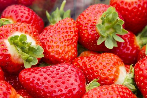 Strawberries closer