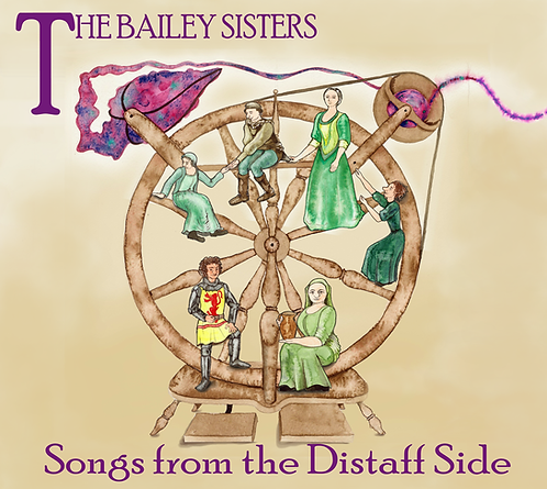 Songs from the Distaff Side - CD