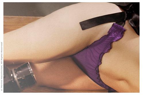 Striptease Purple Mesh