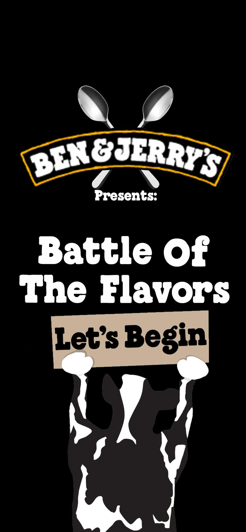 Battle of the flavors. Social Media
