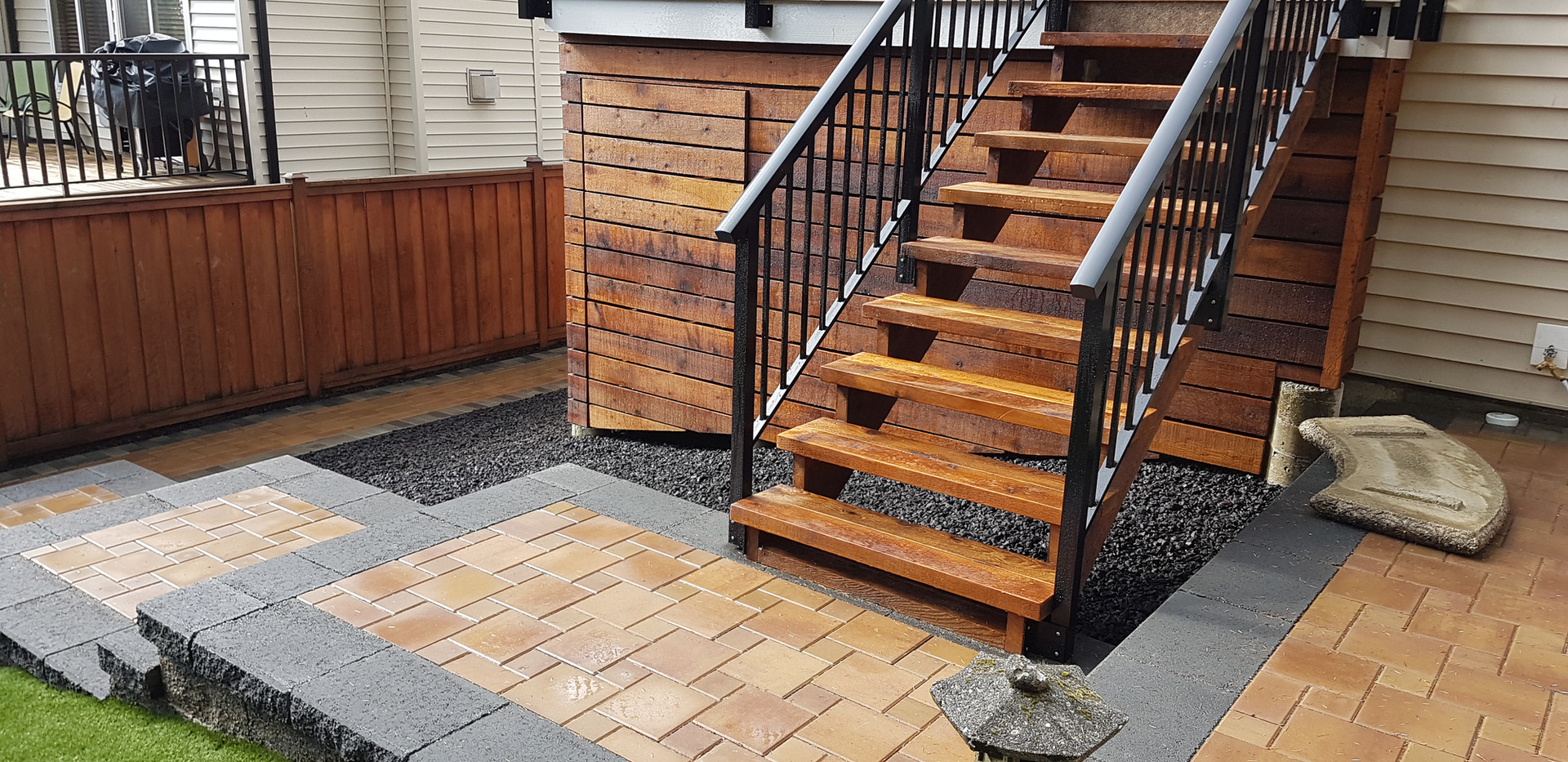Weatherhead Contractor Ltd  Landscapes & Landscaping Project images including : Retaining Walls, Patios, Decking, Stairs, Pools, Cedar Fencing & more.