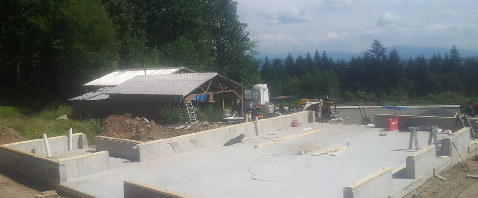 carpentry, formwork, foundations