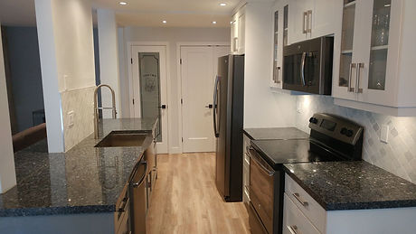 Two Tone Kitchen Renovation