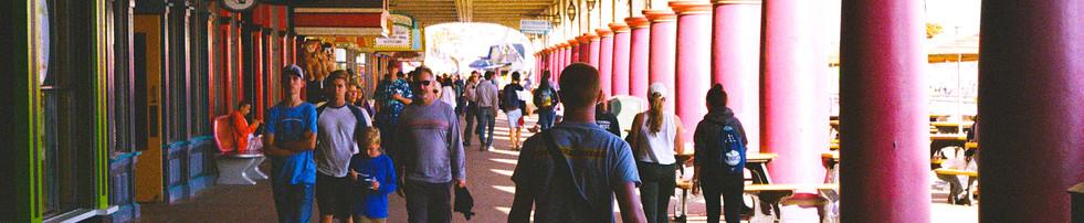 SC boardwalk (Film Scan)