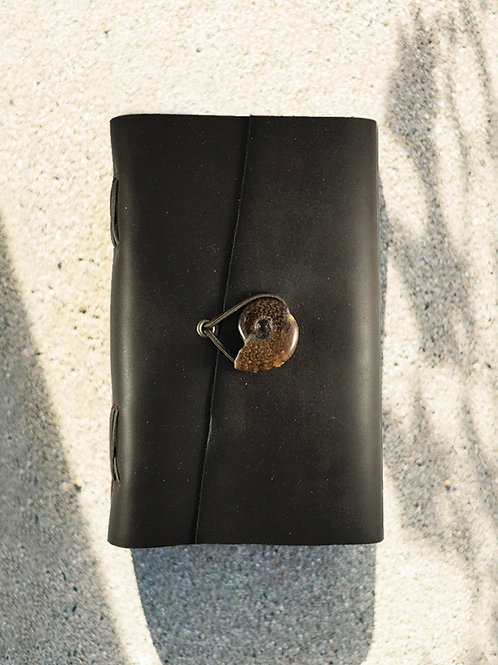 Cowhide Journal w/stone