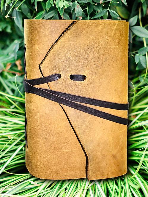 Cowhide Journal w/strap