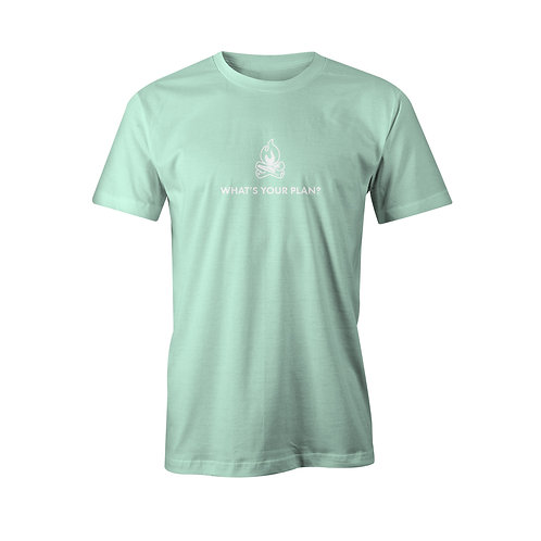 What's Your Plan? Tee (mint)