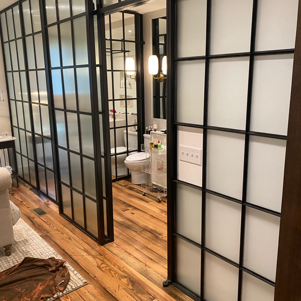 Custom Glass Sliding Doors