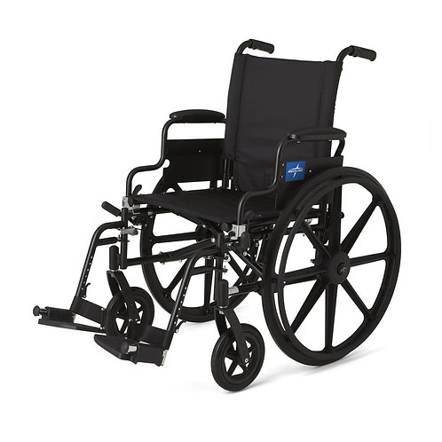 """Wheelchair 18"""" or 20"""" with standard leg rests"""