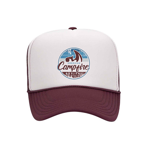 American Campfire Revival Throwback Hat