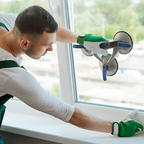 Replacement-of-a-broken-insulating-glass