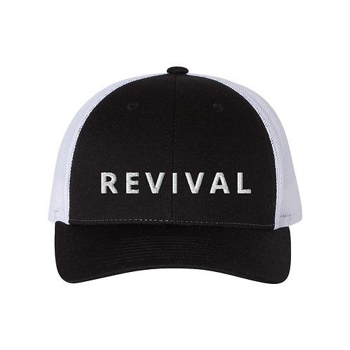 Revival Hat (black/white)