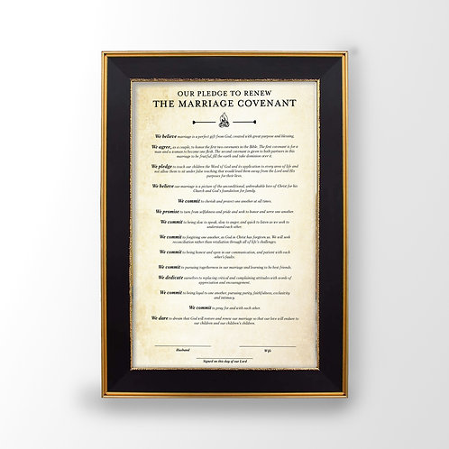 Marriage Covenant Print