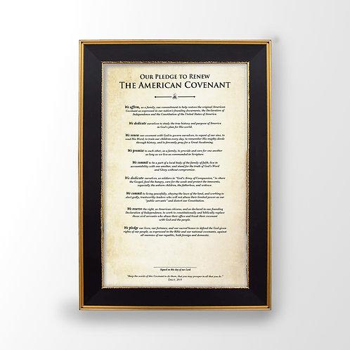 Family Covenant Print
