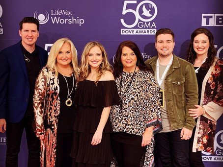 Karen Peck & New River win Southern Gospel song of the year!