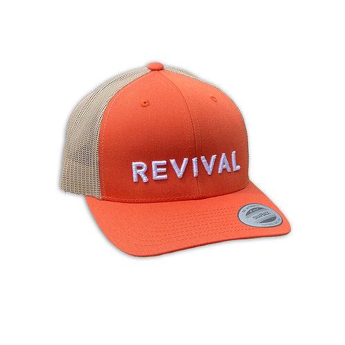 Revival Hat (Natural/Burnt Orange)