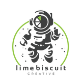 LIMEandCHARCOALastronautCIRCLE_mascot on