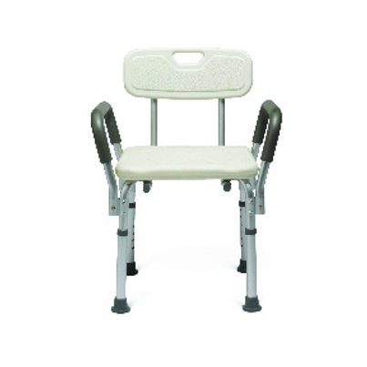 Medline Knock-Down Bath Bench with Arms
