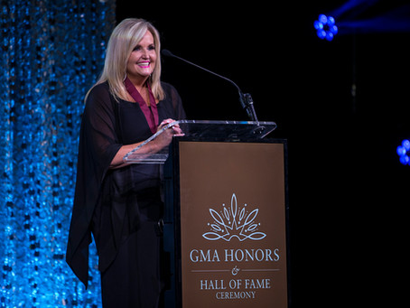 Karen Peck Gooch Inducted Into The Gospel Music Hall Of Fame.