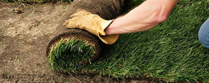 A sodded lawn needs no special care because it is a healthy mature lawn when installed, unlike a sprigged or seeded lawn which requires years of nurturing to reach maturity. You will have easy maintenance of your lawn that only requires watering, mowing and fertilizing when needed. We can install your sod at any time o
