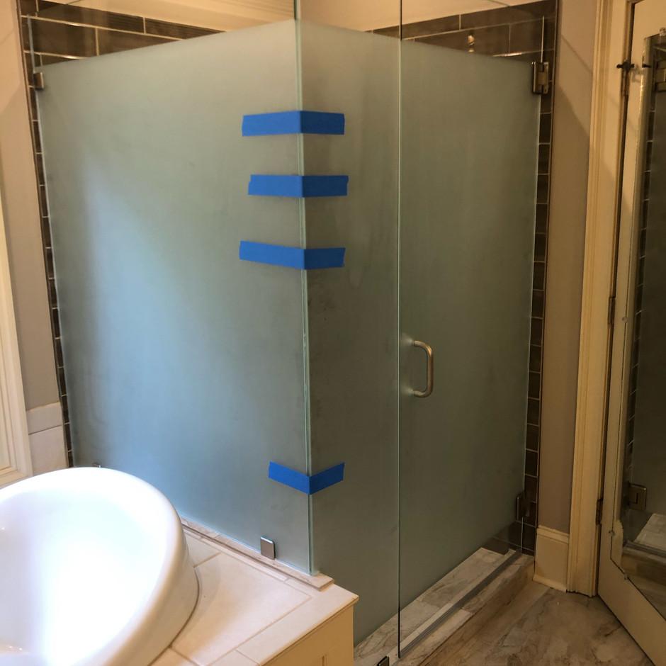 Glass Shower Install