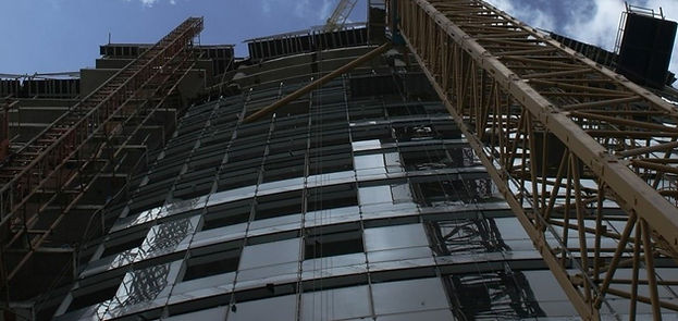 HPG-Building Under Construction - Glass Cladding