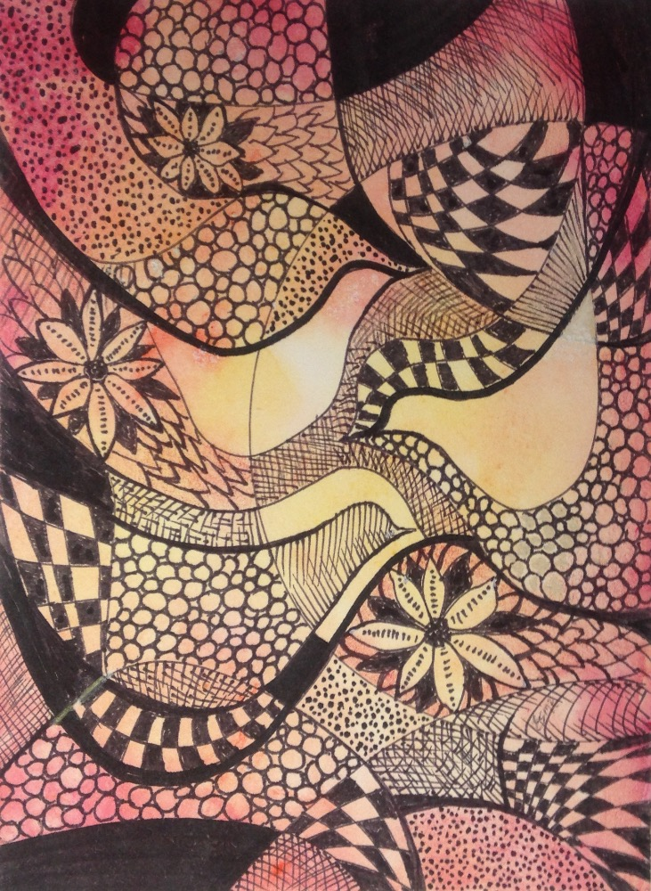 ZenTangle Birds