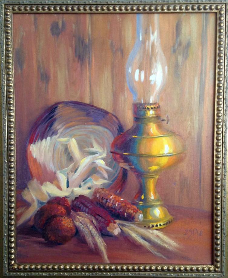 Corn by Oil Light