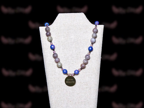 Lilac Stone Necklace