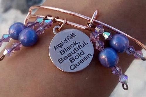 Rose Gold Bangle Bracelet