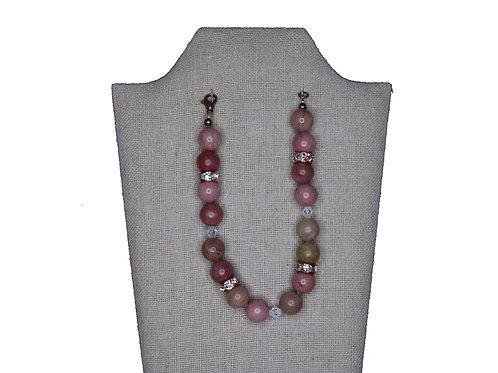Rose Gold Crystal Stones Bracelet