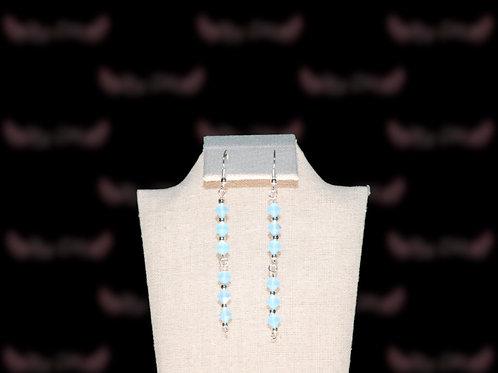 Blue Diamonds Earings