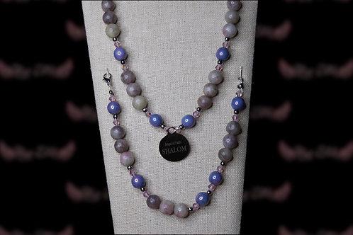 Lilac Stone Set