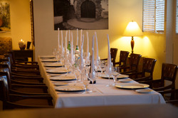 Banquet Room & Table