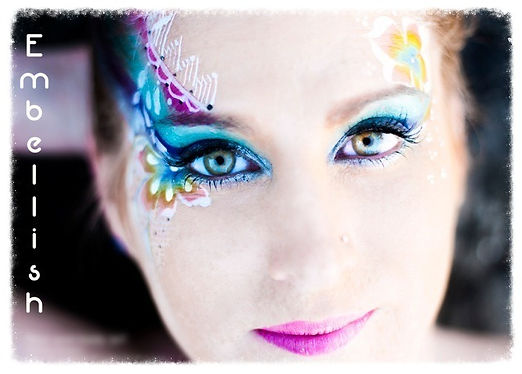 Adult Make Up, Weddings, Childrens Parties, Brisbane Face Painting, Embellish, Embellish Face and Body Art, Melanie Hughes