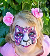 For all your face painting party needs, Melanie Hughes @ Embellish Face and Body Art will create fabulous faces for your childrens birthday party.  Brisbane based and servicing Ipswich and surrounds