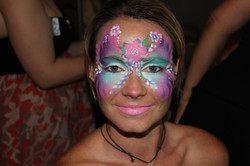 Flower+Butterfly+Face+Painting