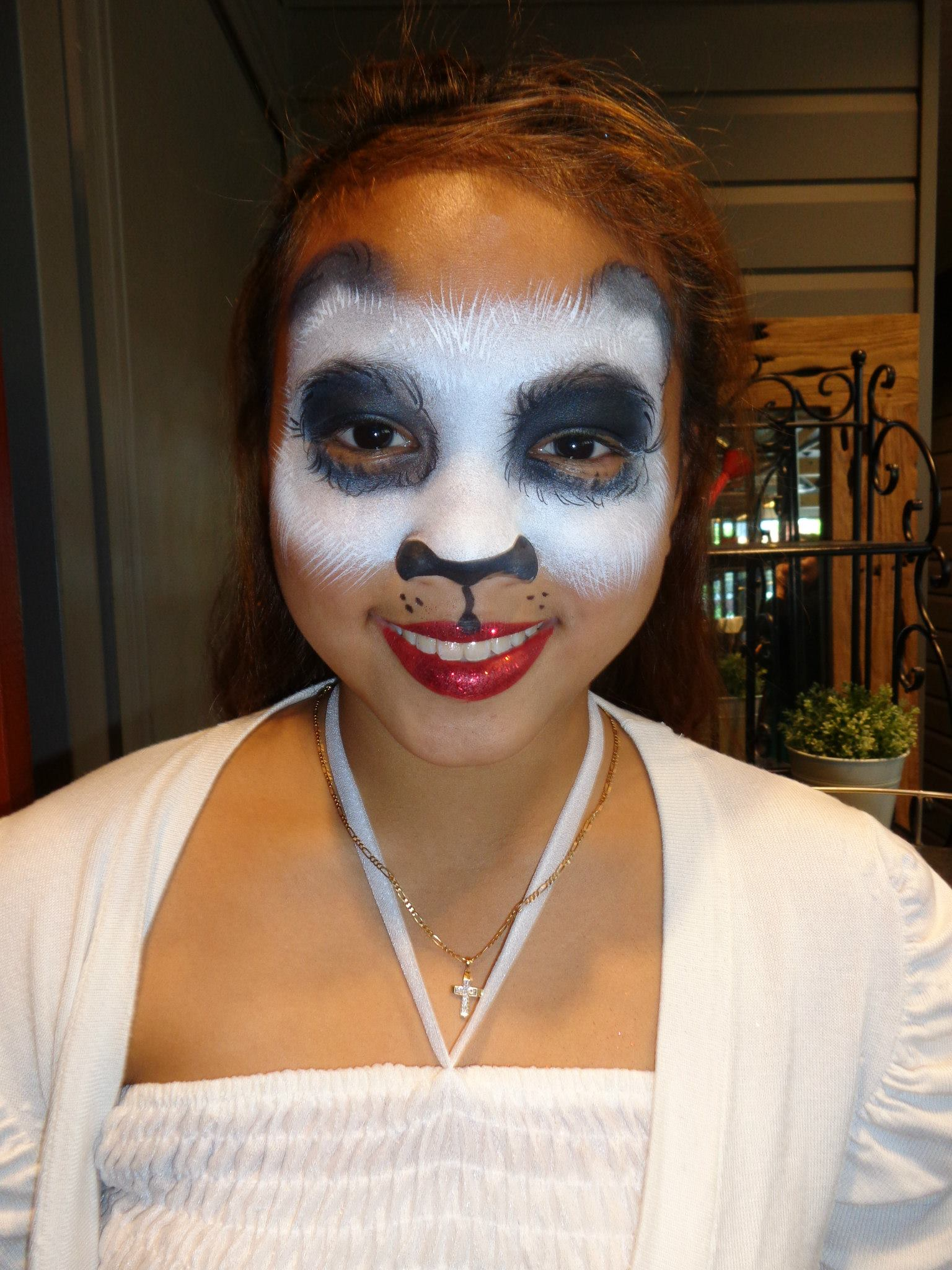 Panda Mask Face Painting