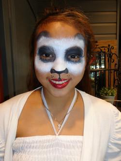 Panda Mask Face Painting