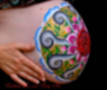 Beautiful Mandala painted on a lovely mother to be to commemorate her upcoming birth.  Pregnancy belly art, or prenatal body art makes a great baby shower, blessing way gift for mum to be.  A beautiful way to dress up the walls of the nursery with a splash of colour, adding a touch of personability for an experience that is unique to you as parents.  Create an experience as a family, like no other.  Each prenatal belly art piece is designed specifically for you by Melanie Hughes @ Embellish Face and Body Art