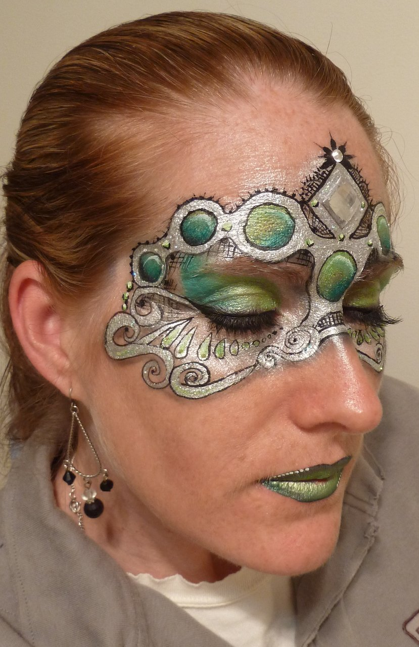 Masquerade Ball Face Painting