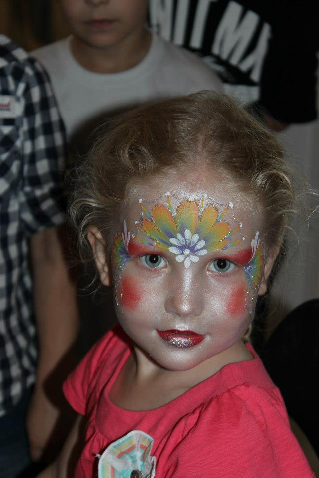 Pretty Fairy Princess Face Paint