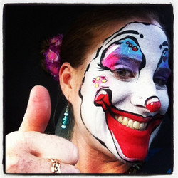 Clown+Face+Painting