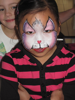 Cute Kitty Face Painting