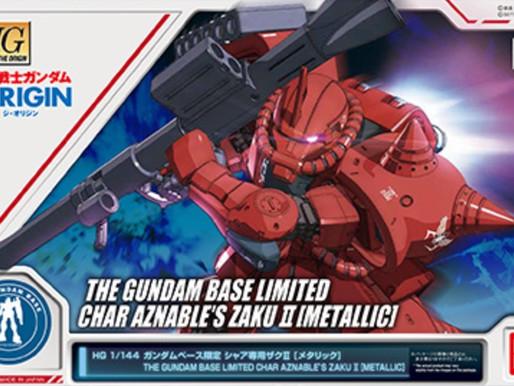 HG 1/144 Char's Zaku II (The Origin) Metallic - Release Info