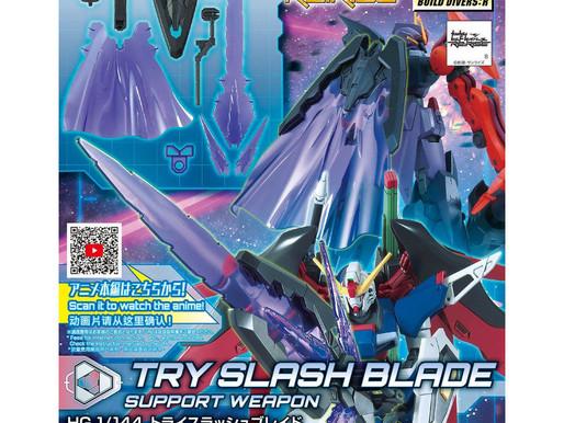 HGBD:R 1/144 Try Slash Blade - Release Info