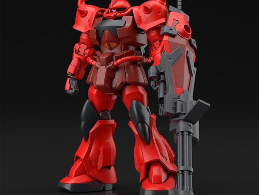 PBandai HGGB 1/144 Gouf Crimson Custom - Release Info